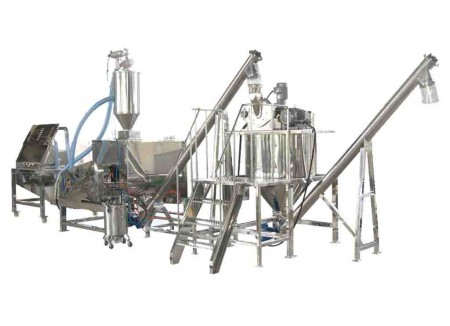 Chemical, Detergent Mixing System