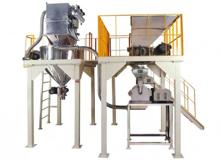 Chemical Materials Crushing Turnkey System