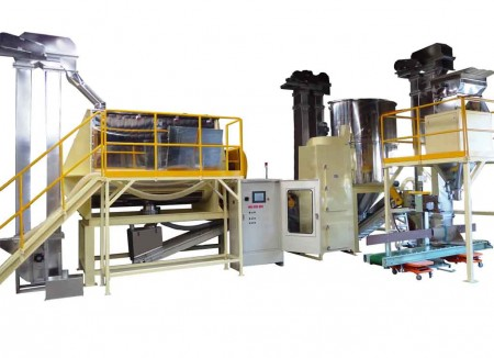 Coffee Beans Mixing & Transporting & Packaging System(RM-6500)