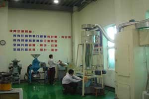 Grind testing/Research center of raw material and samples