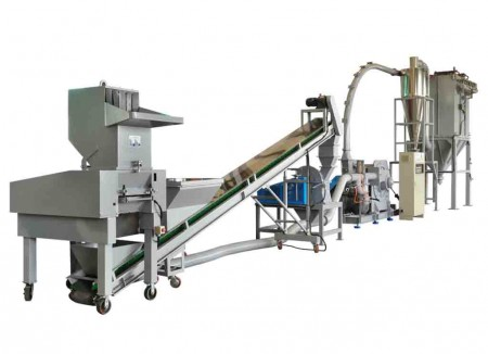 PCB, IC Board, Environmental Material Crushing Grinding System